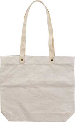 SHOPPING BAG IN COTONE 380GR/M