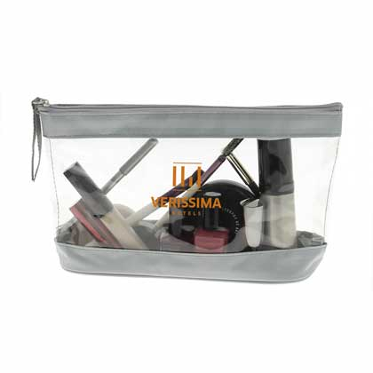 SMALL COSMETIC BAG IN PVC E 420D.