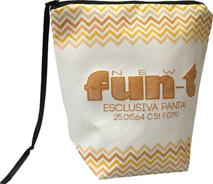 FUNT, BEAUTY IN TNT EXTRA STRONG E CHIUSURA CON ZIP