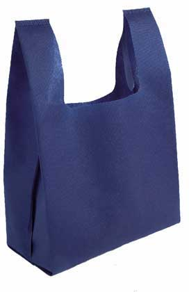 SHOPPER MINI IN TNT 45 G/M2 TERMOSALDATO, 24x39x12 CM